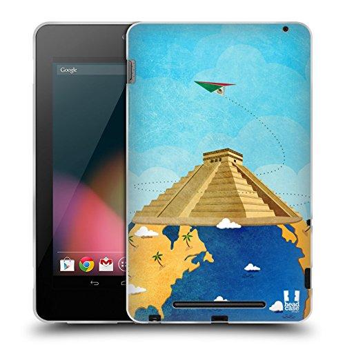 Head Case Designs チチェン・イッツァ 世界旅行 ソフトジェルケース Asus Google Nexus 7