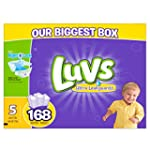 Luvs Ultra Leakguards Diapers, One Mo...