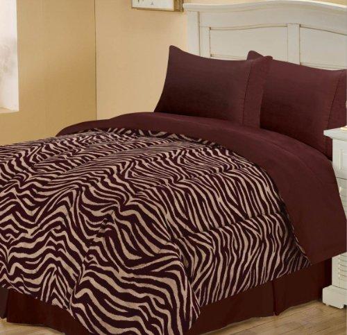 Zebra Print Bedding Twin front-160309