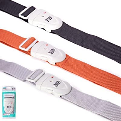 Safe & Sound Travel Sentry Luggage Strap by s&s