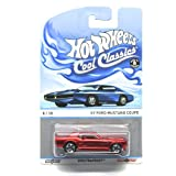 '67 FORD MUSTANG COUPE (RED) * 8 of 30 * Hot Wheels Spectrafrost 2013 Cool Classics Die-Cast Vehicle