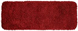 Garland Rug Jazz Runner Shaggy Washable Nylon Rug, 22-Inch by 60-Inch, Chili Pepper Red