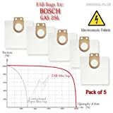 Bosch GAS 25 Filter Bags - More Efficient Replacement