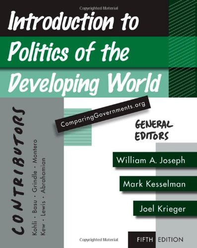 Introduction to Politics of the Developing World:...