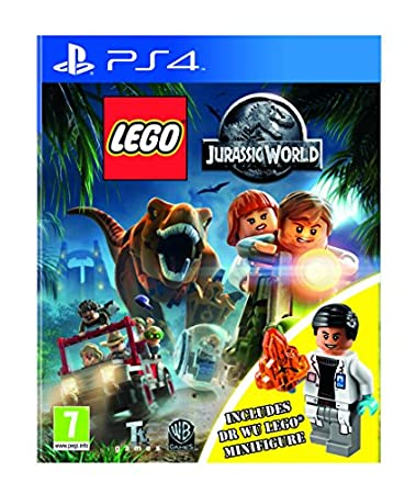 Lego Jurassic World Inc Dr Wu Mini Figure - Amazon Exclusive (PS4)