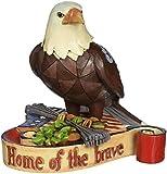 Jim Shore for Enesco Heartwood Creek 3.25-Inch Patriotic Eagle Figurine, Mini