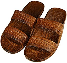 Pali Hawaii Jesus Sandal Brown 10