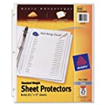 Avery Standard Weight Sheet Protector...