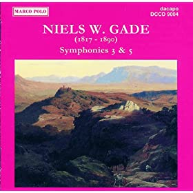 Amazon.com: Gade, N.: Symphonies Nos. 3 and 5: Amalie