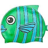Finis Animal Heads Swim Cap - Emerald