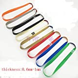Generic Fo73mm : Freeshiping 10pieces Packed High Quallity Rack Closer-spring Rack Rubber Band Flat Rubber Band...