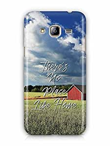 YuBingo There's no place like home Designer Mobile Case Back Cover for Samsung Galaxy J3 2016