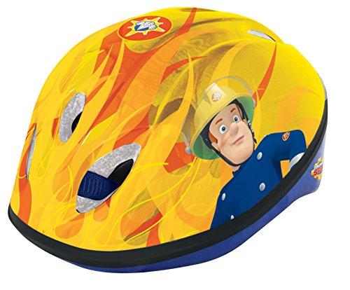 Feuerwehrmann Sam Boy'Sicherheits-Helm, Rot, 48-52 cm