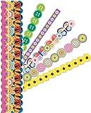KandCompany Summer Bright Adhesive Borders, Crafts Direct