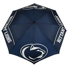 Buy NCAA Penn State Nittany Lions 62-Inch WindSheer Hybrid Umbrella by Team Effort