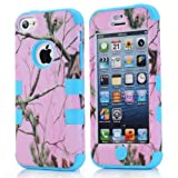 Super Spiderman Fashion Vivid Twig Branch Print New Dual Layer Protection ( PC + Silicone ) Hybrid Back Case Cover for Apple iPhone 5c with Logo Cutout - Inner Blue