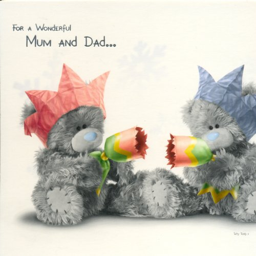 For A Wonderful Mum And Dad... Me To You Christmas