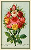 img - for FLOWERS FROM A PURITAN'S GARDEN, Annotated and Illustrated. book / textbook / text book