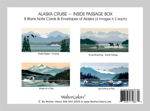 note-cards-alaska-cruise-inside-passage-mixed-box-of-8-blank-cards