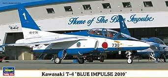 Hasegawa Kawasaki T-4 Blue Impulse Model Kit