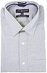 U.S.Polo.Assn. Men's Formal Shirt (Grey_39)