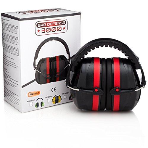 Ear defense 3000 en352 1 safety ear muffs red apparel accessories