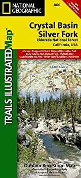TI Map #806- Crystal Basin/Silver Fork/Eldorado National Forest
