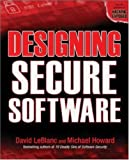 Designing Secure Software (0072263911) by Howard, Michael