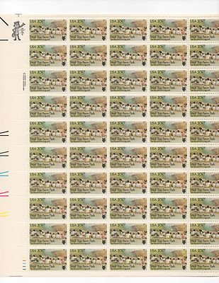Wolf Trap Farm Park Sheet of 50 x 20 Cent US Postage Stamps NEW Scot 2018