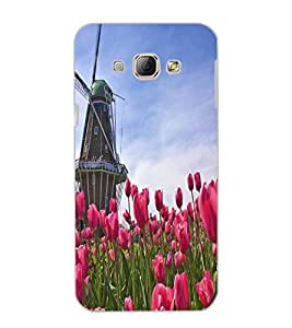 SAMSUNG GALAXY A8 WINDMILL Back Cover by PRINTSWAG