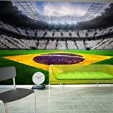 Non-woven !! Top !! Photo wallpaper ! Murals ! Wall Mural Photo !! 150x105 cm - Football 10110904-11 ! Free glue for each wallpaper !