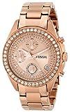Fossil Womens ES3352 8220Decker Stainless Steel Watch