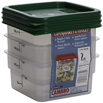 Cambro Square Food Storage Container Sets