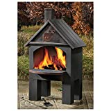 CASTLECREEK-Cabin-Cooking-Steel-Chiminea