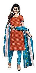 Balaji Women's Cotton Unstitched Dress Material_5107_Multicolored_Freesize