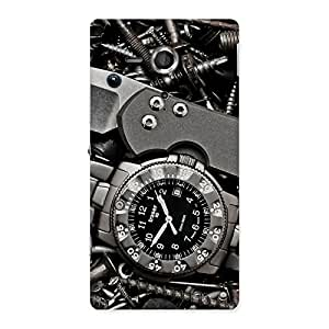 Amazing Knife Back Case Cover for Sony Xperia SP