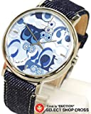COACH Watches:COACH POPPY BLUE DENIM C LOGO ETCHED WATCH-14501254