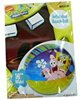 Nick Jr. Spongebob Squarepants Inflatable Beach Ball - 16in