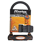 Masterlock Master Lock Street Fortum Gold Sold Secure D Lock 210x110mm Black