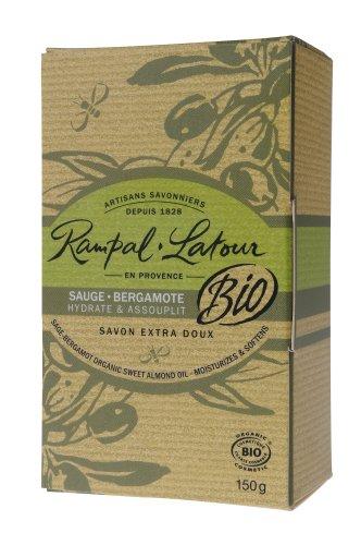 Rampal Latour ランパル・ラトゥール オーガニックソープ セージ&ベルガモット 150g