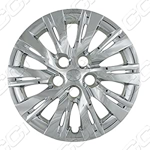 Wheel Cover Toyota Camry Aftermarket S; 16 Inch; Chrome Finish; Abs; 10 Split Spoke; Standard Retention