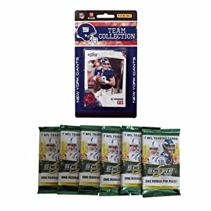NFL New York Giants 2010 Score Team Set with Six Score Football Packs by Panini