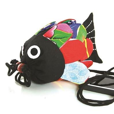 Koi fish mosaic car interior design for Koi fish purse