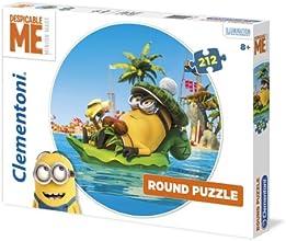 Clementoni 21405.1 - Rundpuzzle Minions, 212 Teile