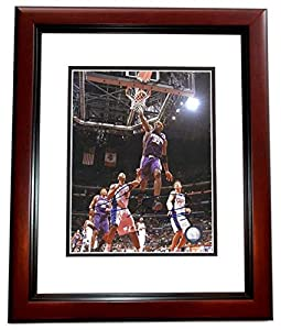 Amare Stoudamire Autographed Hand Signed Phoenix Suns 8x10 Photo MAHOGANY CUSTOM... by Real Deal Memorabilia