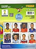 Panini WM 2014 Brazil : Offizielles Update für das Panini FIFA World Cup 2014 Album mit insgesamt 71 Stickern von nachnominierten Spielern.