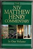 The NIV Matthew Henry Commentary in One volume based on the Broad Oak Edition.