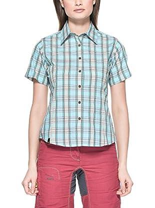 Salewa Camisa Mujer Hanne Dry W (Turquesa)