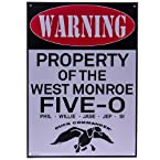 West Monroe Five-O Warning Sign