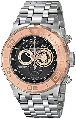 Invicta Men's 15964 Subaqua Analog Display Swiss Quartz Silver Watch